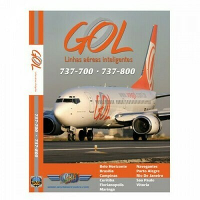 GOL 737-700 & 737-800 DVD