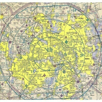 Aeronautical Plotting Chart - REV July 2001