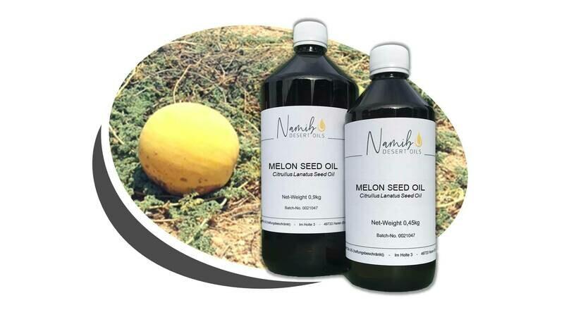 Kalahari Melon Öl - im 1 Liter Gebinde ab 39,00 Euro/kg [netto]