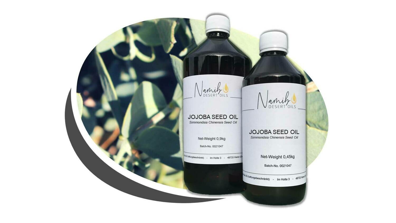 Jojoba Öl - im 1 Liter Gebinde ab 58,50 Euro/kg [netto]