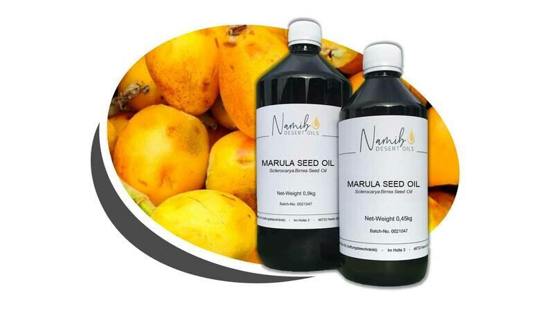 Marula Öl - im 1 Liter Gebinde ab 47.50 Euro/kg [netto]