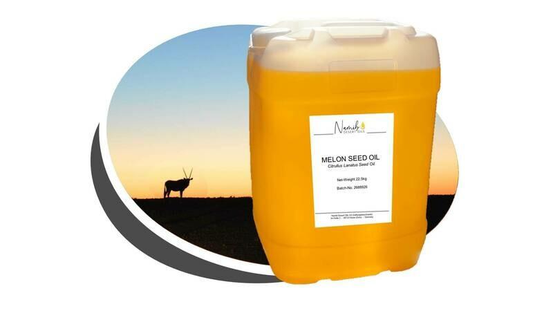 Kalahari Melon Öl - im 25 Liter Gebinde ab 28,00 Euro/kg [netto]