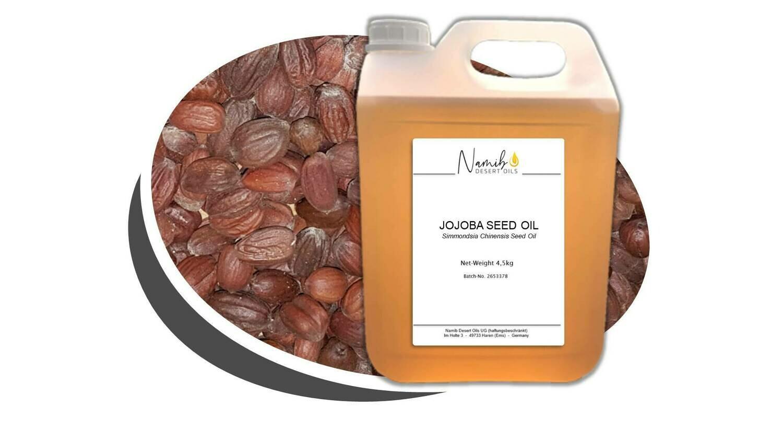 Jojoba Öl - im 5 Liter Gebinde ab 53.50 Euro/kg [netto]