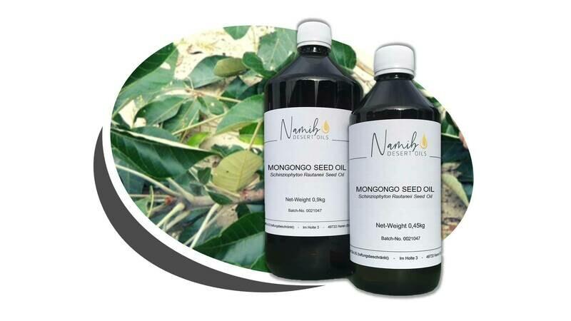 Mongongo Öl - im 1 Liter Gebinde ab 42,00 Euro/kg [netto]