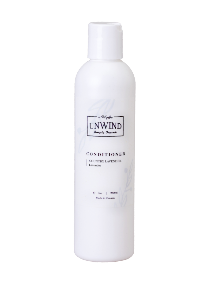 UNWIND Country Lavender Conditioner (Lavender) 8oz/240ml