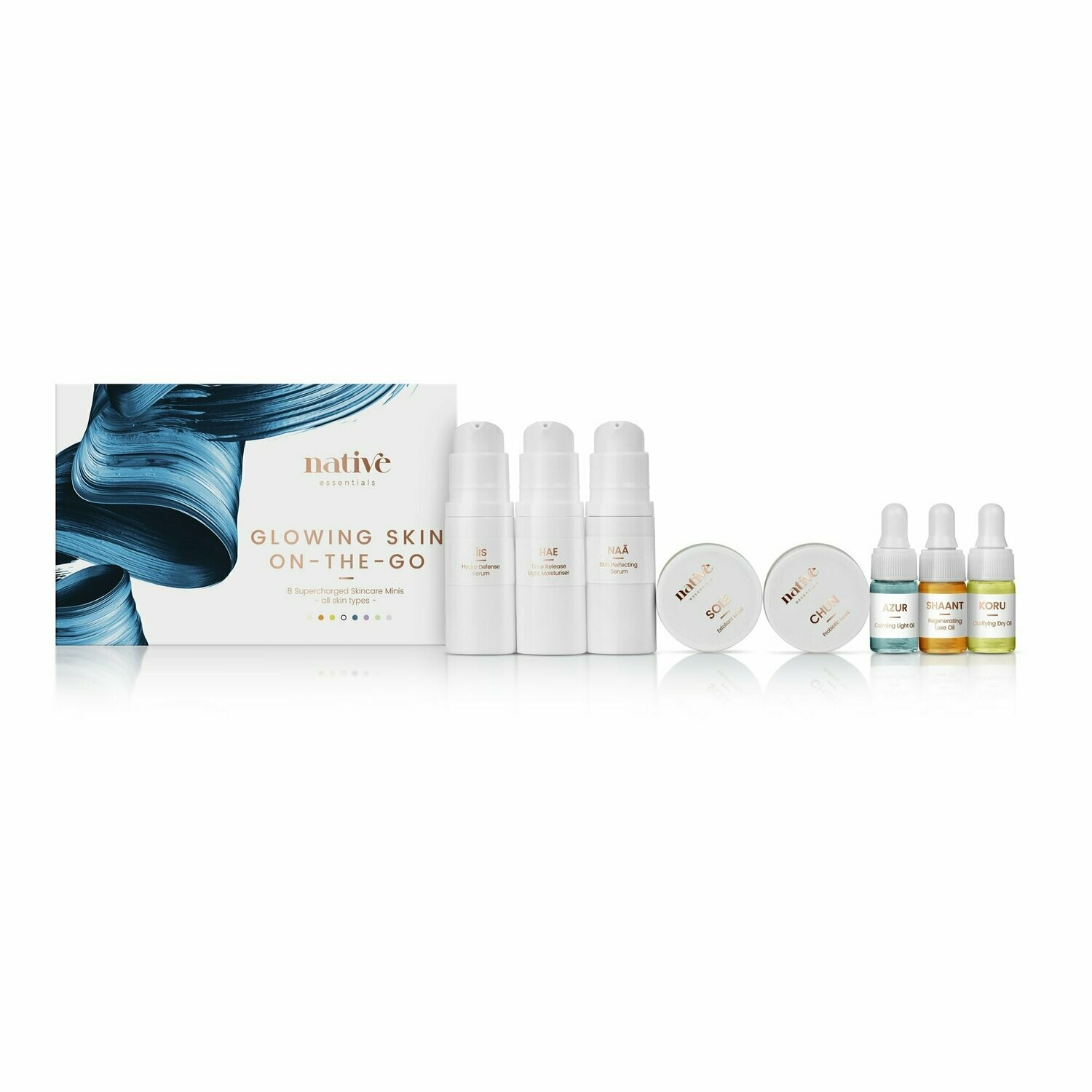 NATIVE ESSENTIALS Glowing Skin On-The-Go