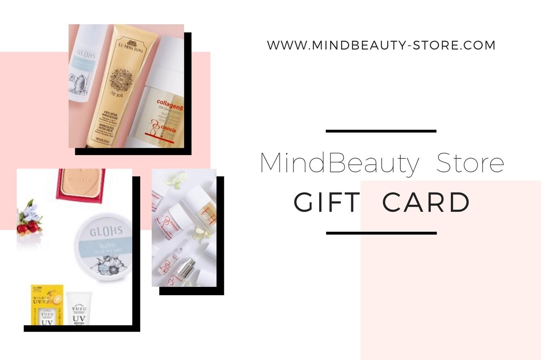 MindBeauty Store Gift card