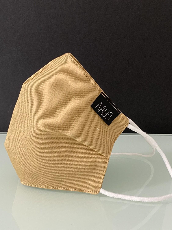 AA99® Reusable Antibacterial Antiviral Face Mask - Caramel