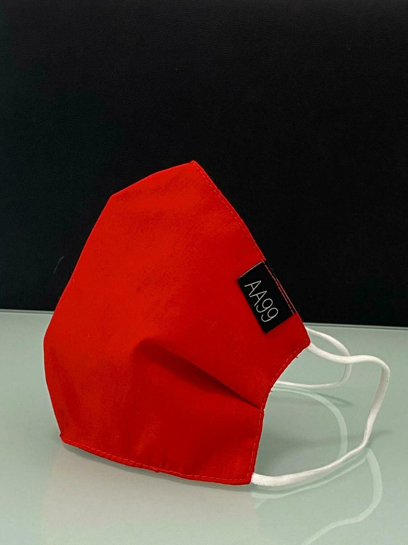AA99® Reusable Antibacterial Antiviral Face Mask - Red