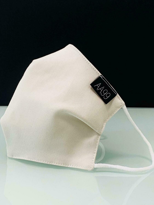 AA99® Reusable Antibacterial Antiviral Face Mask - Off White