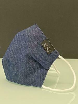 AA99® Reusable Antibacterial Antiviral Face Mask - Jeans Blue