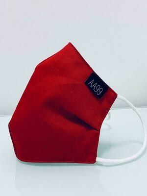 AA99® Reusable Antibacterial Antiviral Face Mask - Dark Red