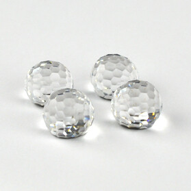 #4861 Crystal Comet Argent Disco Ball 10mm (4 pcs)