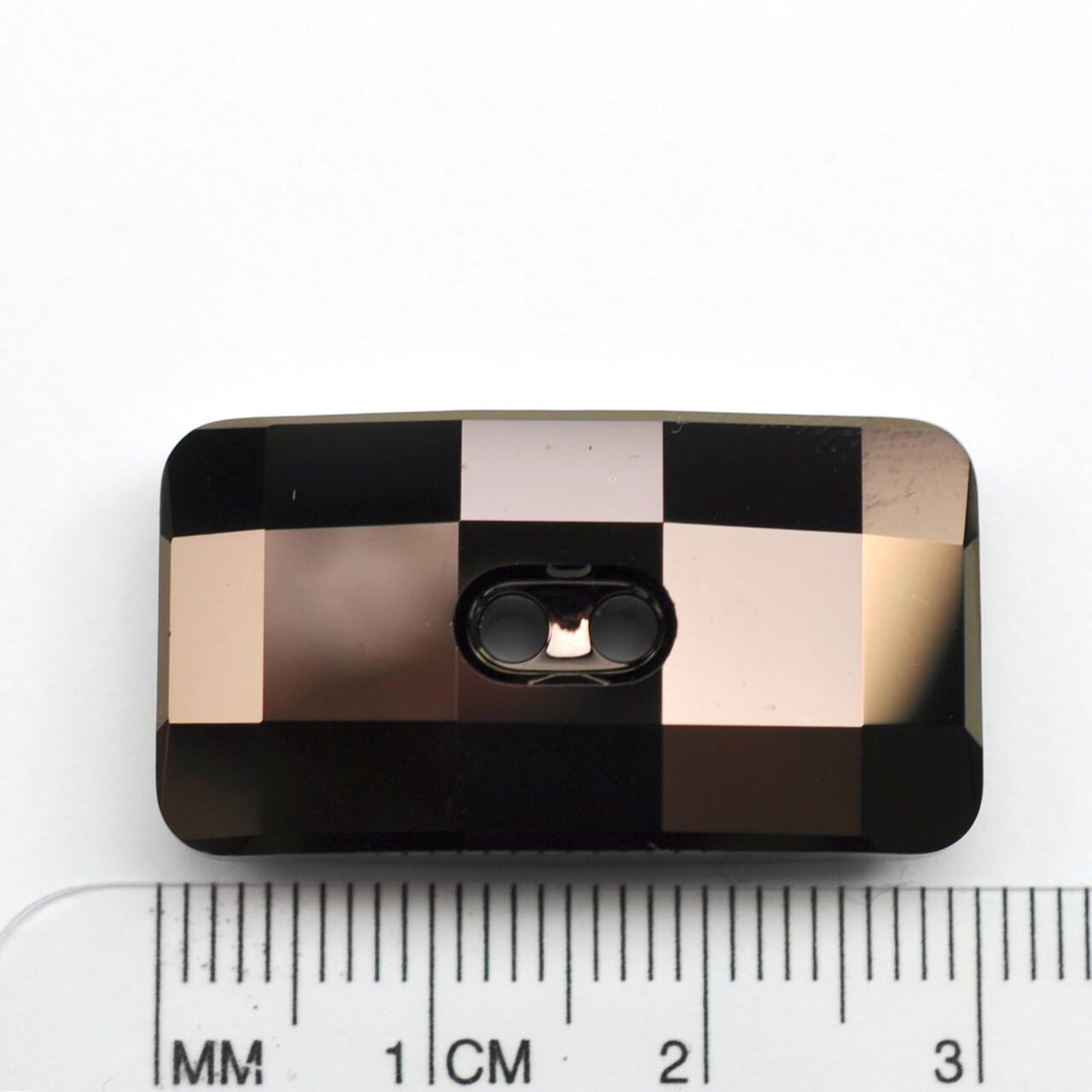 #3093 Jet Nut Chessboard Button 30x16mm (2 pcs)