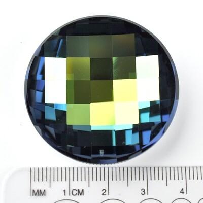 #2035 Crystal Sahara V Chessboard Circle 40mm (1 pc)