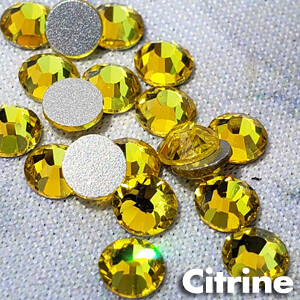 Citrine - KiraKira Glass Rhinestones by CrystalNinja