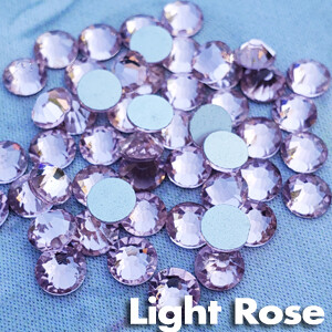 Light Rose - KiraKira Glass Rhinestones by CrystalNinja