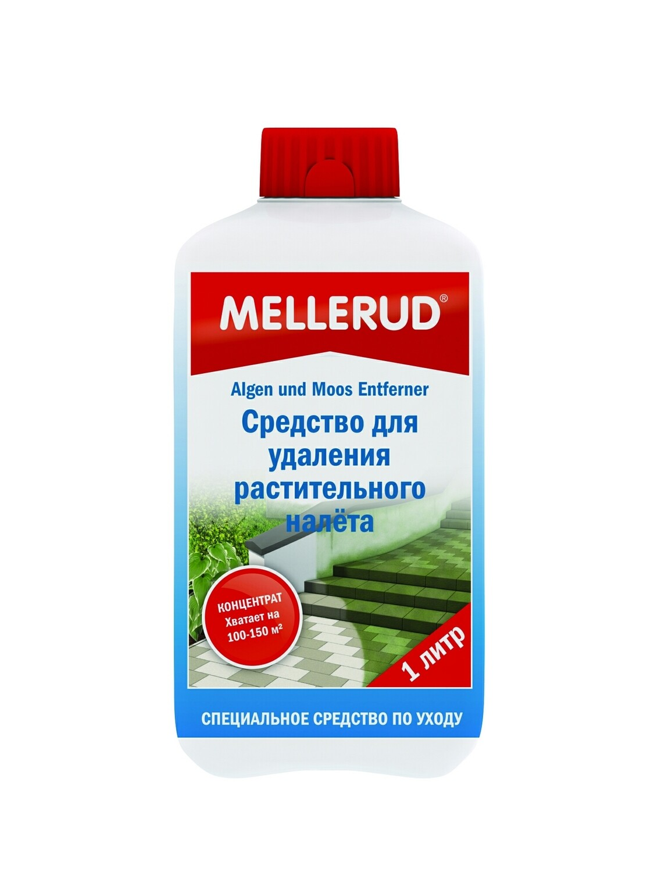 Средство для очистки водорослей и мха Mellerud
