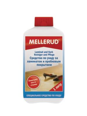 Средство по уходу за ламинатом и пробковым покрытием Mellerud