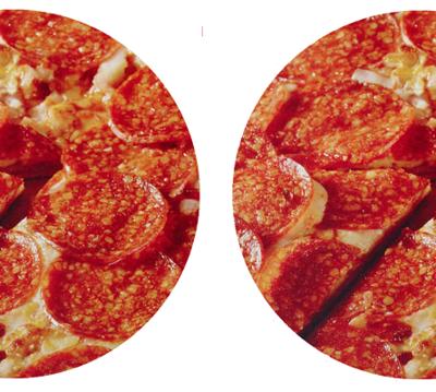 2 Extra Pepperoni Medium Pizzas