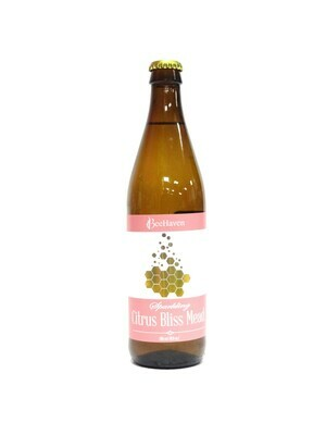 BeeHaven Sparkling Citrus Bliss Mead 500ml (E4-3)