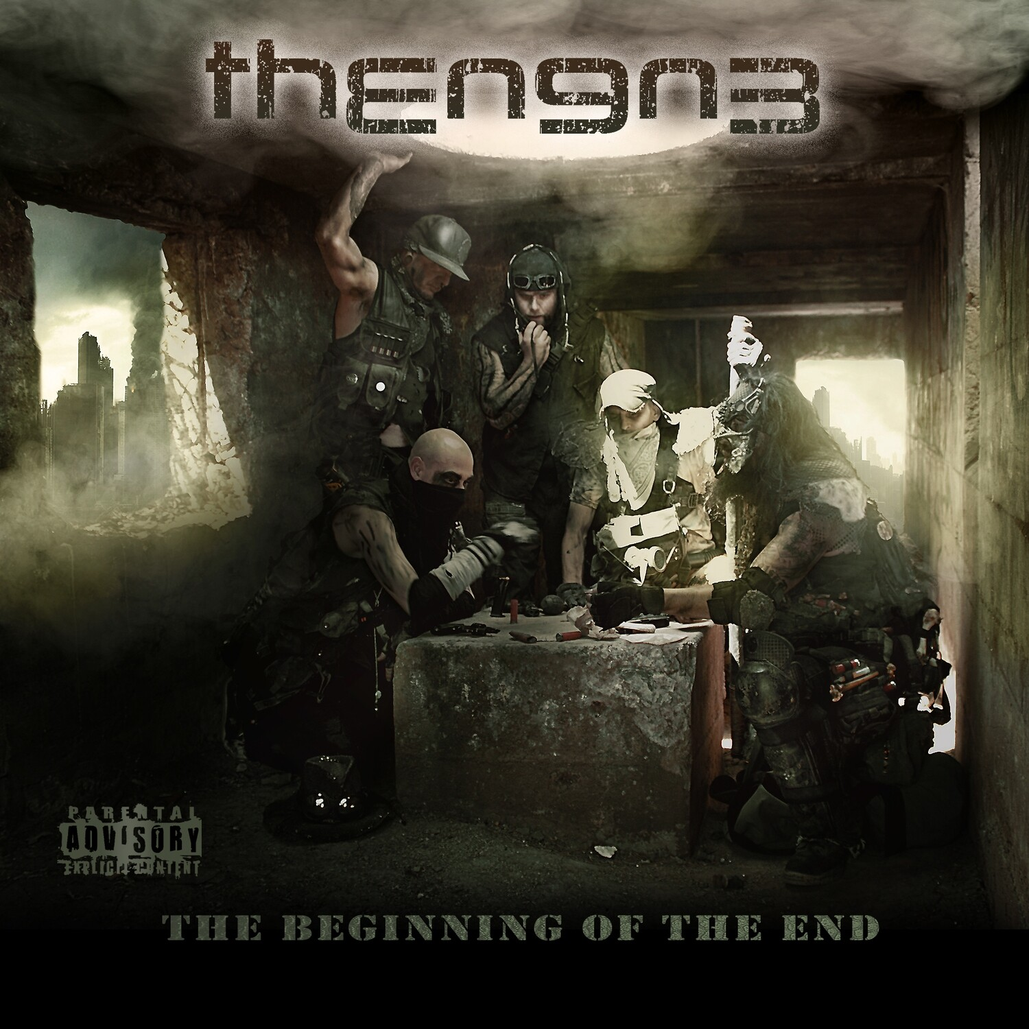 THE N9N3 THE BEGINNING OF THE END - VINYL (Pre-Order)