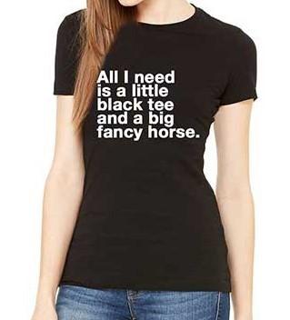 'All I Need' Black Tee