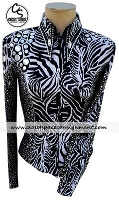 'Lisa Nelle' Black & White Shirt