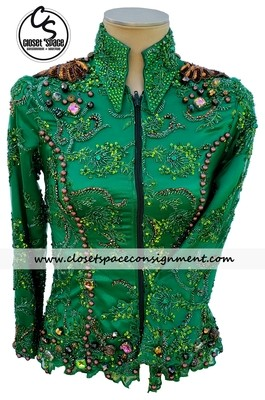 'Totally Outfitted' Green & Chocolate Showmanship Set