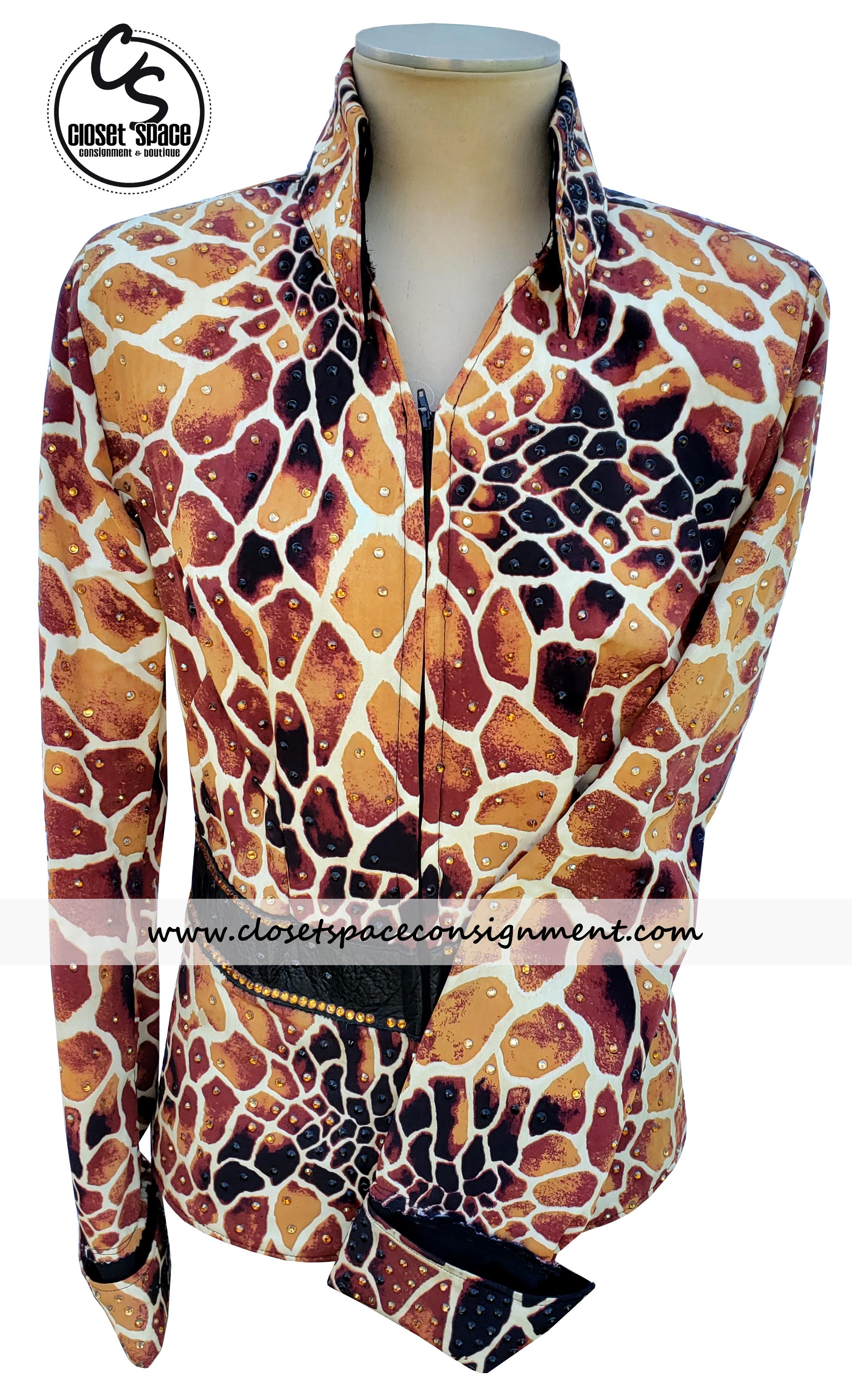 Giraffe Print Jacket 2KC3