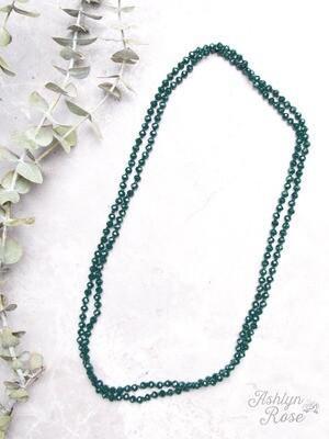 Emerald Skinny Beads