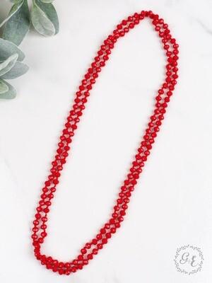 True Red Beads