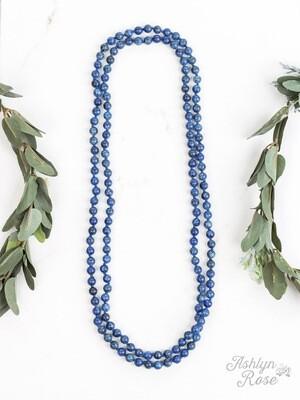 Blue Jasper Beads