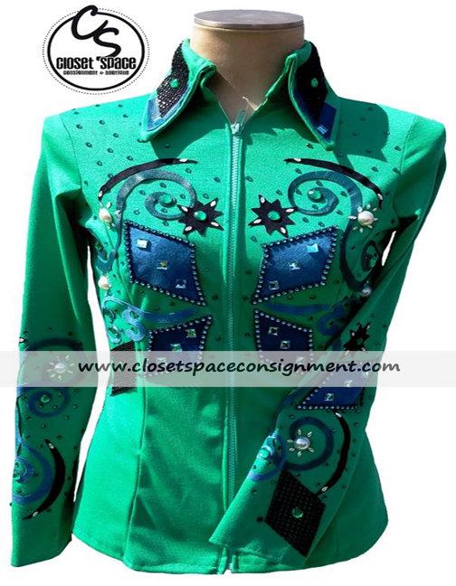 Green Jacket w/cuffs 2HH1
