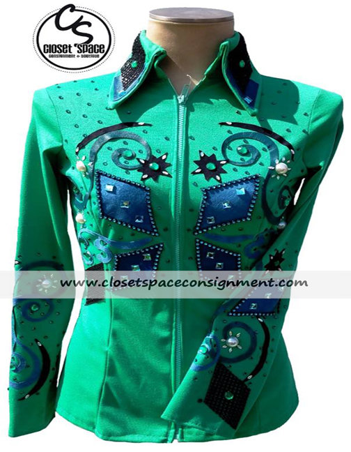 Green Jacket w/cuffs