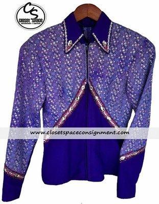 Purple & Lavender Showmanship Set