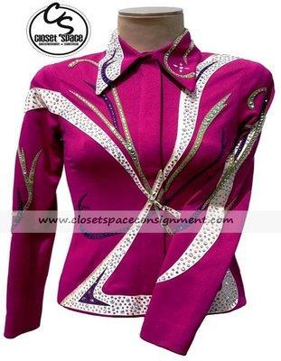 'Shari Voeltz' Pink & White Showmanship Set