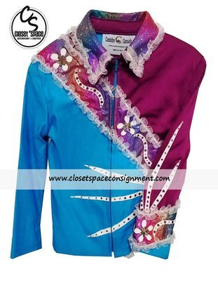 'Cassidy's Casuals' Turquoise & Pink Showmanship Set