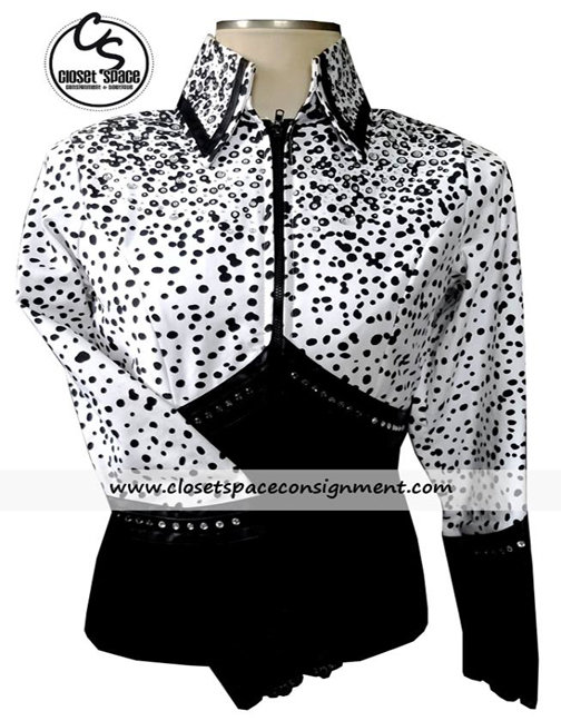 Black & White Animal Print Jacket JK1