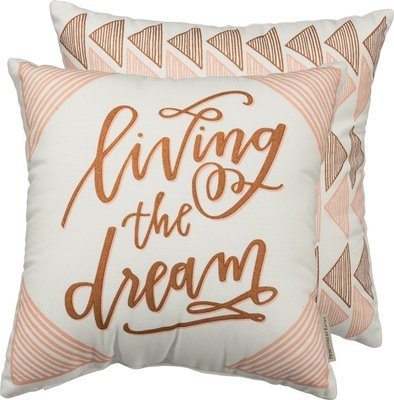 'Living The Dream' Pillow