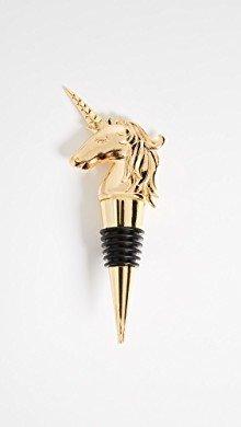 Gold Unicorn Bottle Stopper