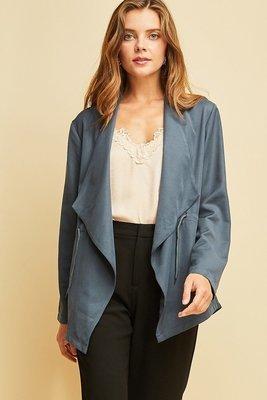 Slate Blue Jacket