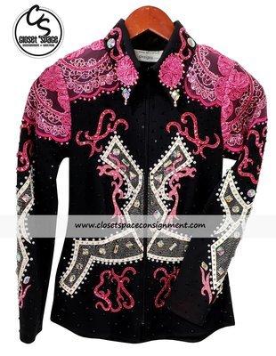 'Show Off Designs' Black, Pink & White Showmanship Set