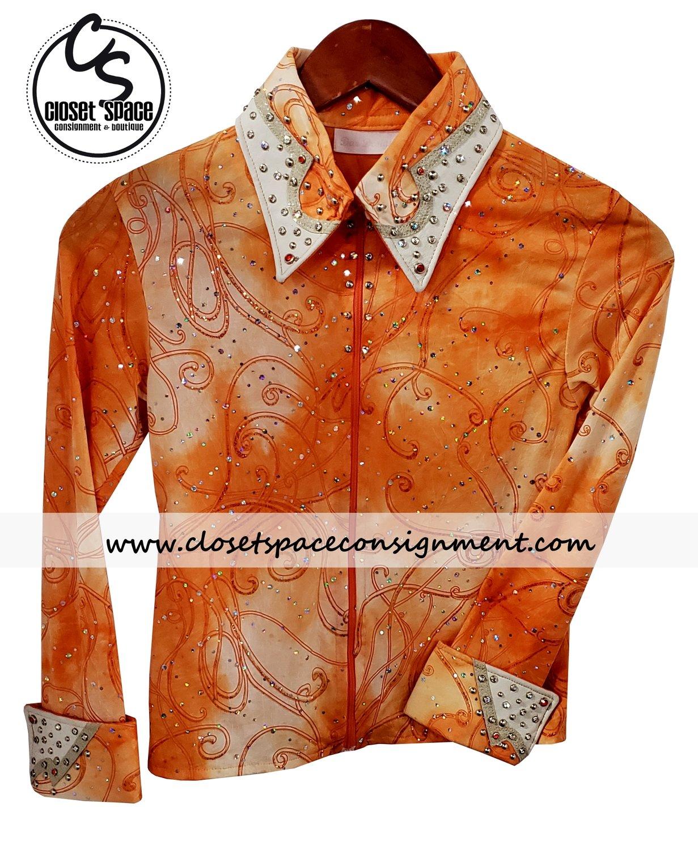 'Dar Designs' Orange Showmanship Set