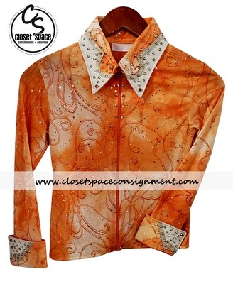 ​'Dar Designs' Orange Showmanship Set