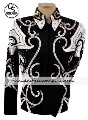'Totally Outfitted' Black, White & Lilac Showmanship Set