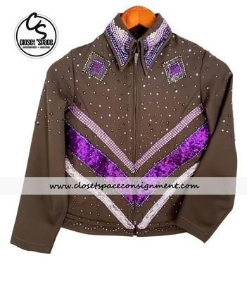 Gray & Purple Showmanship Set - NEW