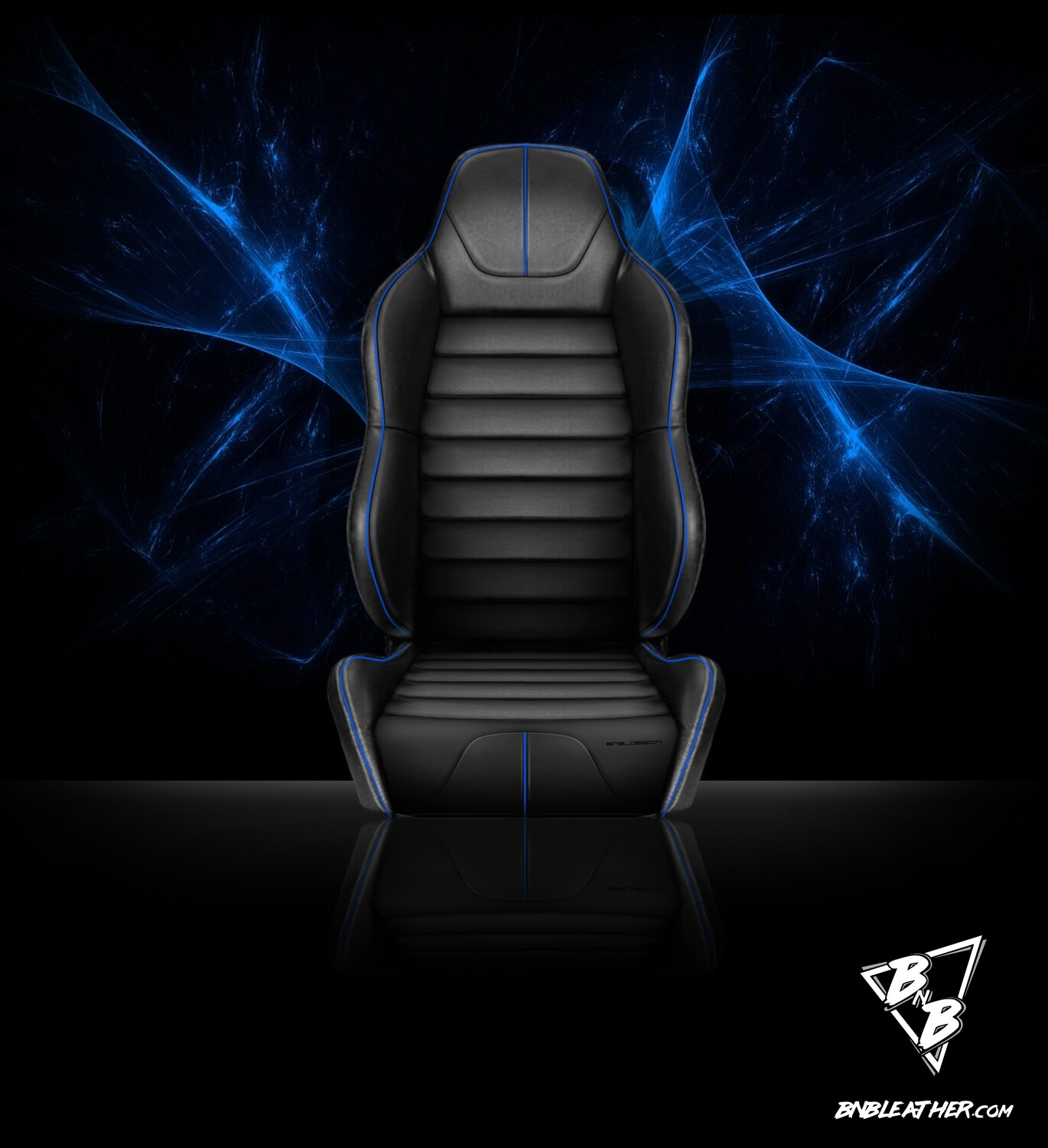 BNB 'OVERTIME' Front Seat Pair - LEATHER