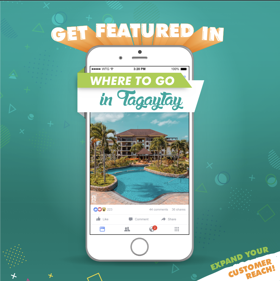 Where To Go In Tagaytay Featured Ad