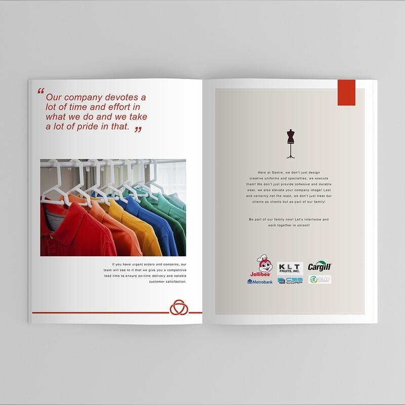 Company Profile Graphic Design Service